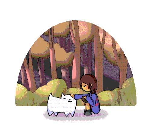 Погладь пёселя