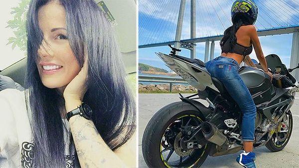 Девушка-байкер погибла при съемке видео для инстаграма Байкеры, жертва инстаграмма, новости, дтп, селфи, мотоциклы