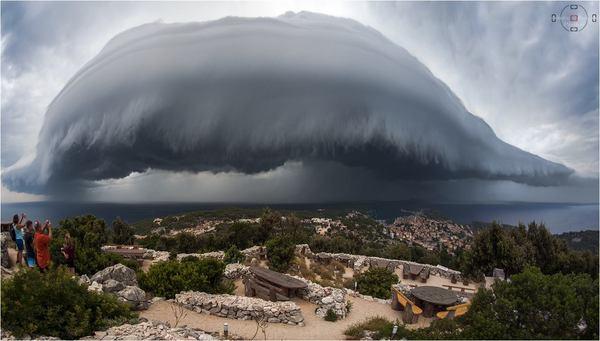 Хорватия Хорошая погода, Хмары