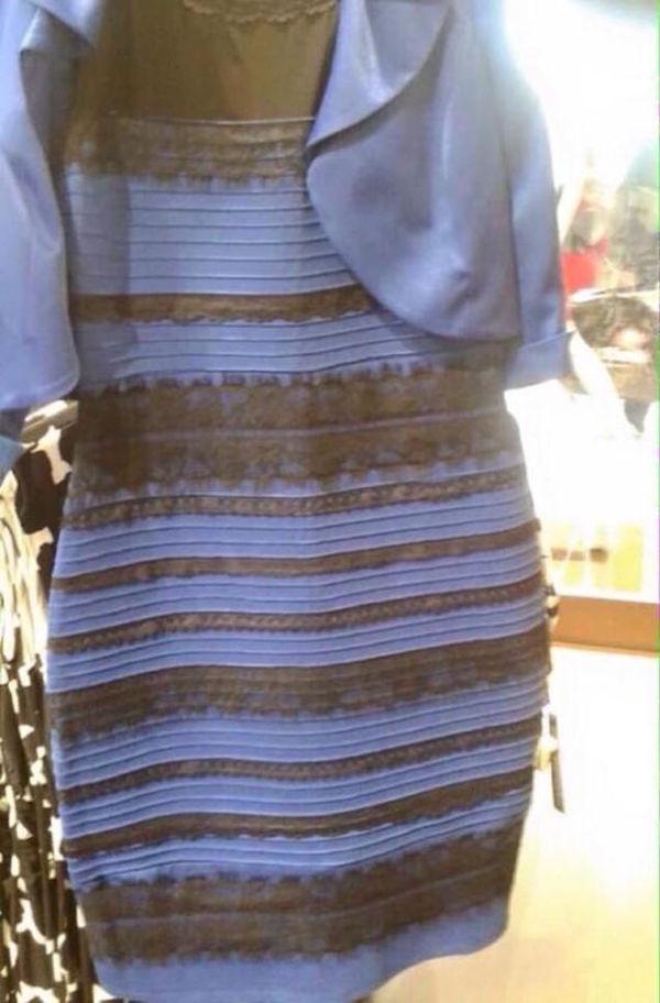 Какого цвета платье? платье, иллюзия, парадокс, цвет