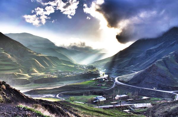Одно маленькое село высоко в горах