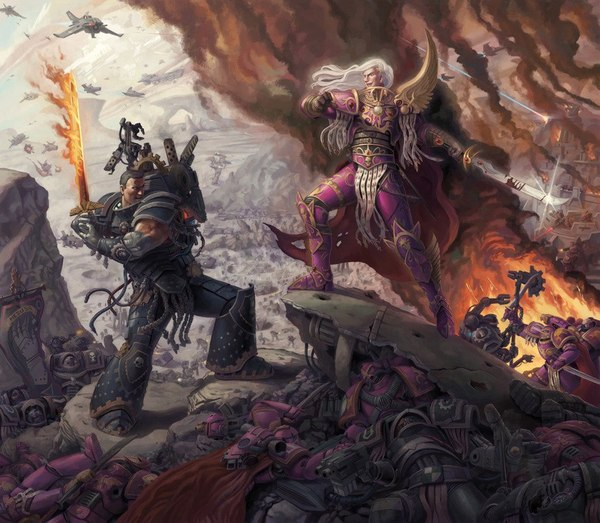 Last Stand of Ferrus Manus by Jeff Porter