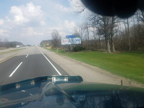 Границы между штатами дальнобойщики, дорога, граница, США, вопрос, длиннопост