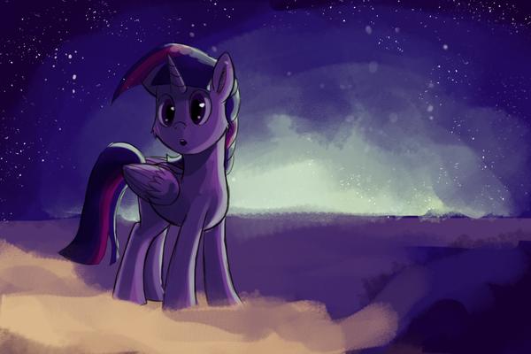 Twilight in Twilight Zone My Little Pony, ponyart, Twilight Sparkle