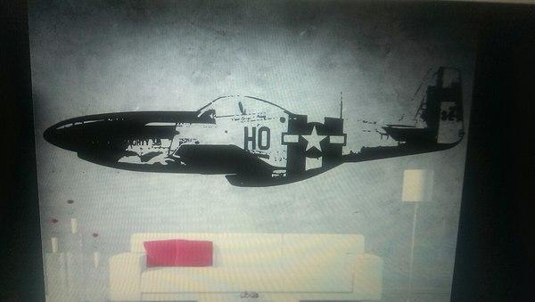 Как я P-51 рисовал Арт, Теги явно не мое, p-51, Aircraft, Длиннопост