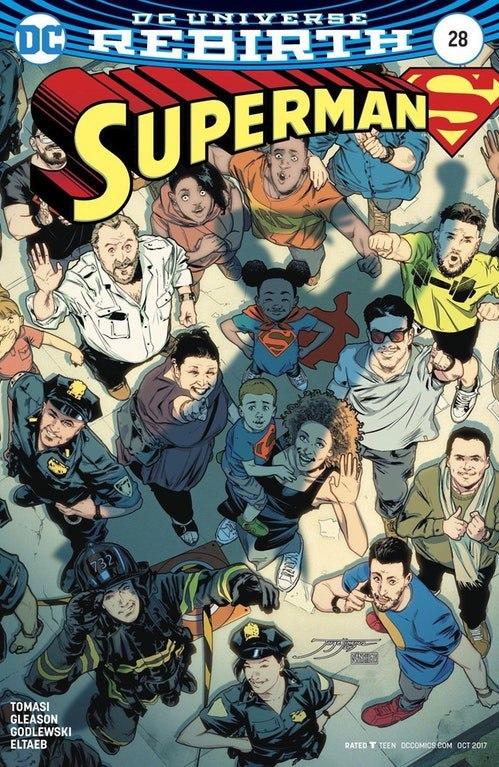 Одна из лучших обложек комиксов о Супермене dc, комиксы, супермен, обложка, радость, оптимизм