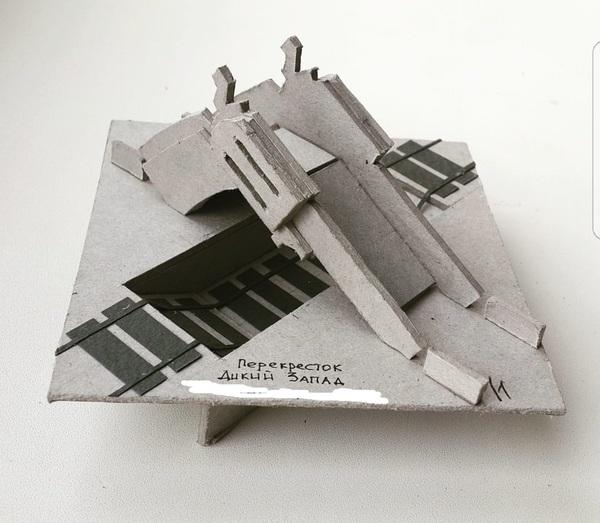 Макетики студента-архитектора макет, макетирование, я у мамы архитектор, студенты, творчество, архитектурный макет, длиннопост