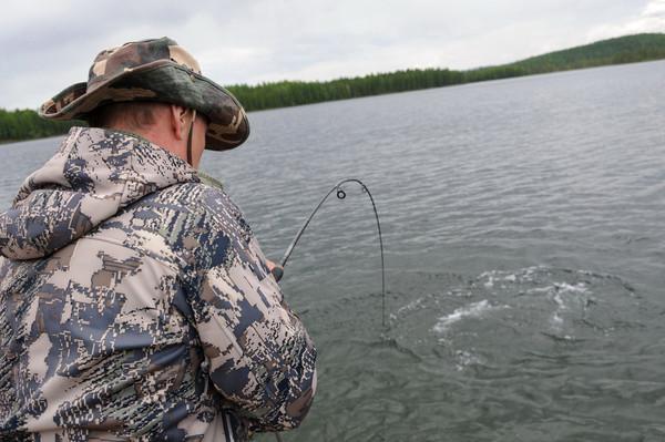 ловля щуки на дадынских озерах