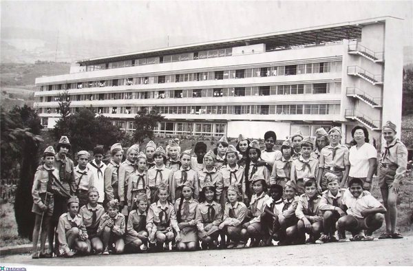 Ласпи пионерский лагерь школа лицей 320