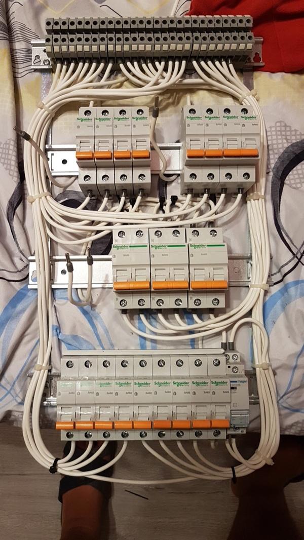 Когда электрику делают не электрики... электричество, электрик, одесса, длиннопост