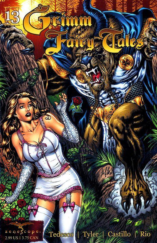 Комикс Grimm Fairy Tales, выпуск #13: «Красавица и Чудовище, часть 1» сказка, комиксы, Grimm Fairy Tales, графические новеллы, сказки на новый лад, Красавица и Чудовище, длиннопост