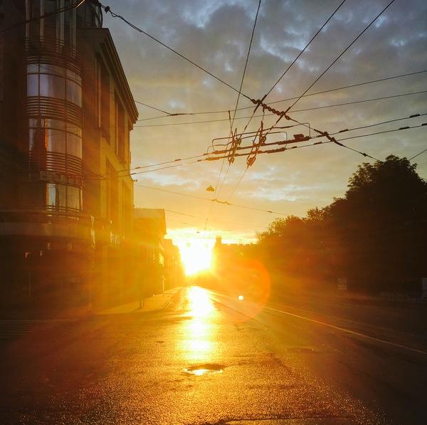 Рассвет Санкт-Петербург, Фотография, Утро, Рассвет, Iphone se