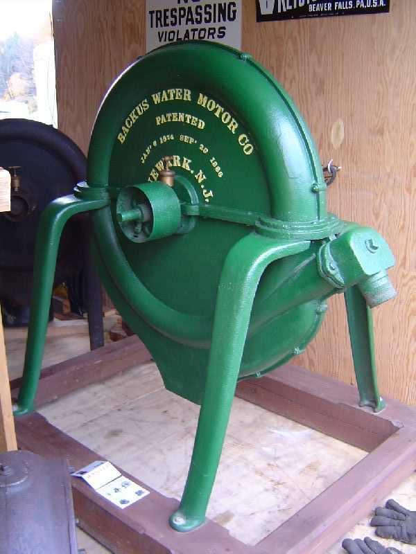 Водяные двигатели - стимпанк-альтернатива электричеству история, техника, история вещей, ретро, стимпанк, длиннопост