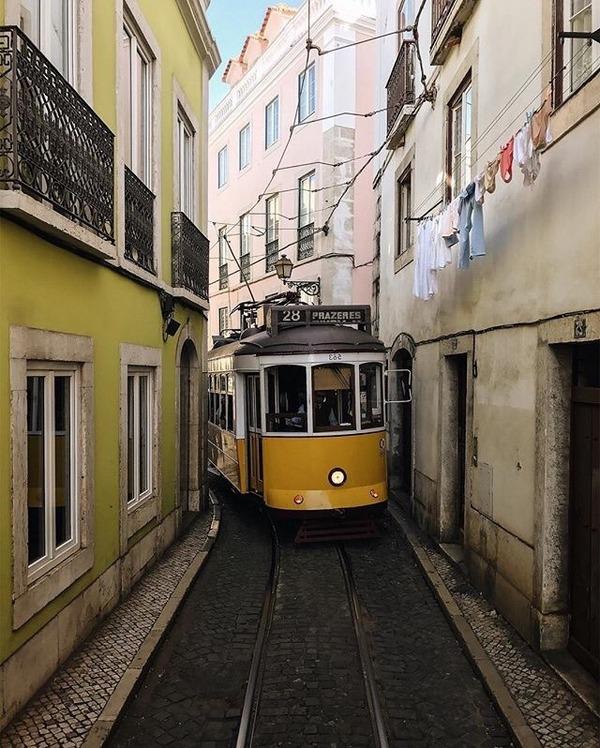 Трамвай 28 из Лиссабона