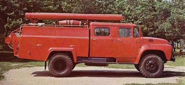55 лет в строю… пожар, пожарная машина, мчс, техника, длиннопост
