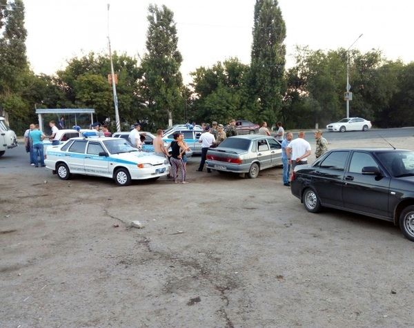 ДТП по-саратовски! Авария, ДТП, ОМОН, Саратов, Новости
