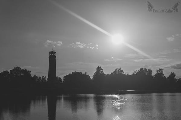 Маяк featheratlas, природа, пейзаж, маяк
