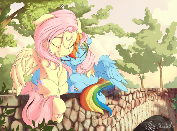 Nobody Loves Me Like You my little pony, Fluttershy, rainbow dash