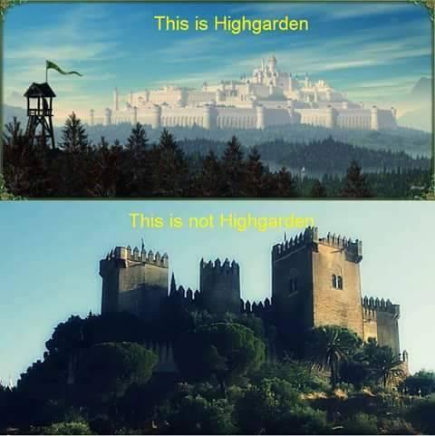 Каким бы мог быть замок Тиреллов на самом деле
