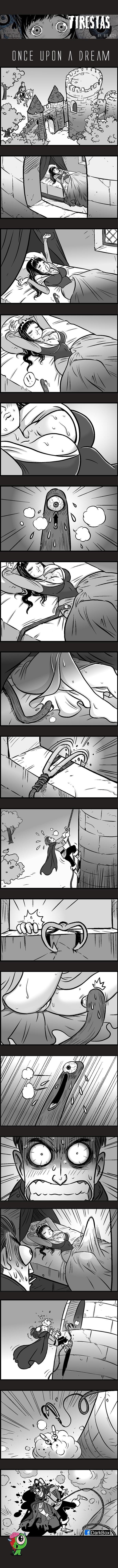 Однажды во сне Tiresias, DarkBox, комиксы, длиннопост