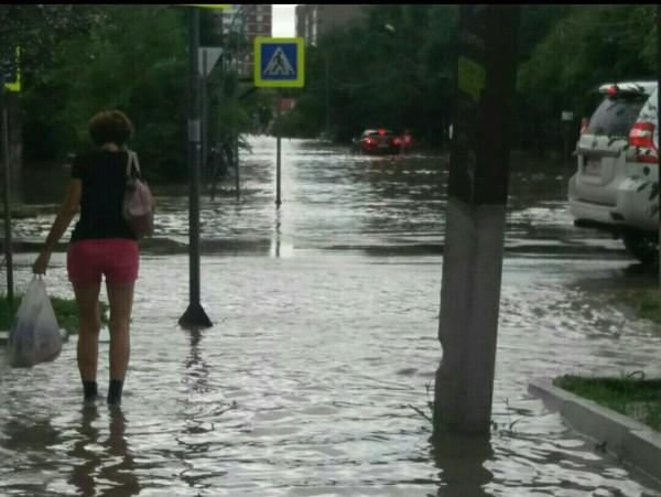 Ливни в Приморье потоп, стихия, Дождь, Уссурийск, длиннопост