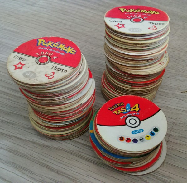 Сокровище покемоны, фишки, caps, детство 90-х