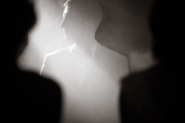 Силуэты фотография, черно-белое, репортаж