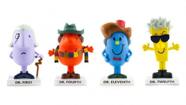 Dr. Men Dr  Who, доктор кто, книги, минифигурки, длиннопост