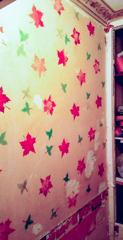 Делаем ремонт в санузле. Снял плитку, а там... ремонт, рисунок, стена, Туалет, ностальгия, детство