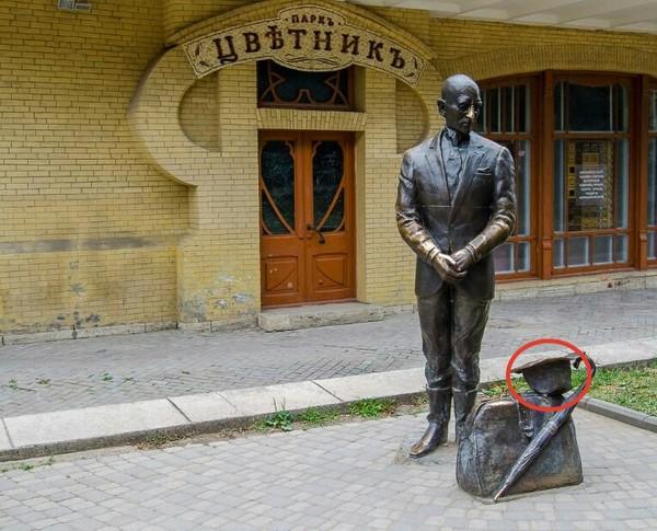 В Пятигорске негодяи лишили Кису шляпы ВКонтакте, Пятигорск, кража