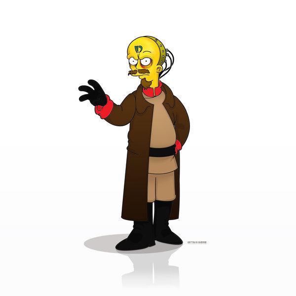 Юрий в стиле Симпсонов
