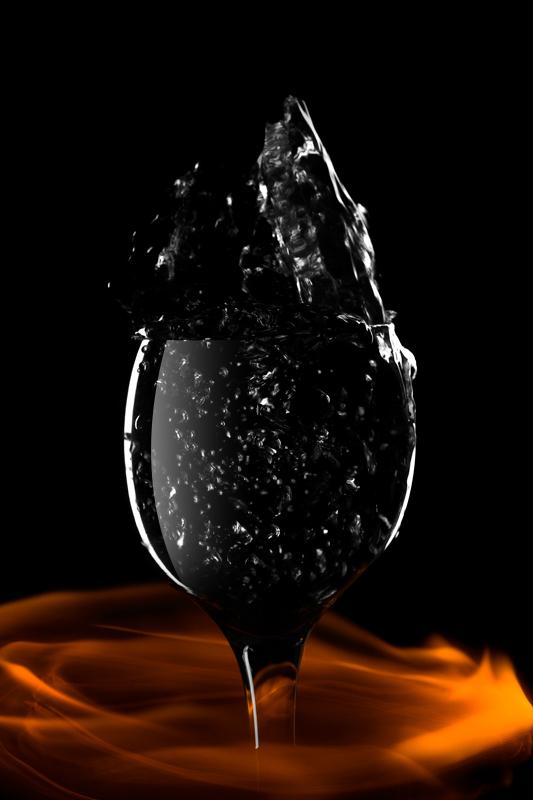 Очень крепкий алкоголь Алкоголь, огонь, хобби