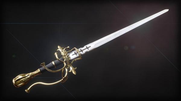 Меч. Просто меч. 3D, моделизм, меч, Skyrim