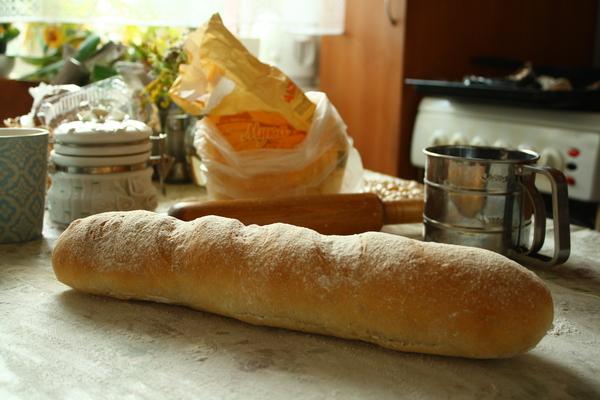 Французский багет багет, французский багет, баттхёрт, батон, домашняя выпечка, хлеб, омномном, фудпорн, видео, длиннопост