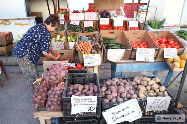 Посмотрите цены на местную продукцию в Якутске якутск, рынок, офощи и фрукты), местная продукция, длиннопост