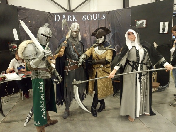 Стенд по Dark Souls Старкон, Dark souls, Стенд, Косплей, Видео, Длиннопост