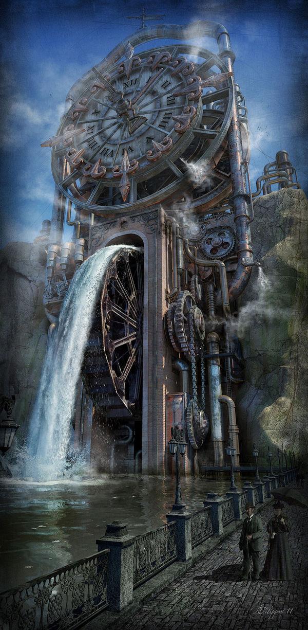 Steampunkcity (Part I) Арты городов в стиле стимпанк Steampunkcity, Стимпанк, Steampunkculture, Steampunkmodel, Арт, Steampunkart, Творчество, Длиннопост