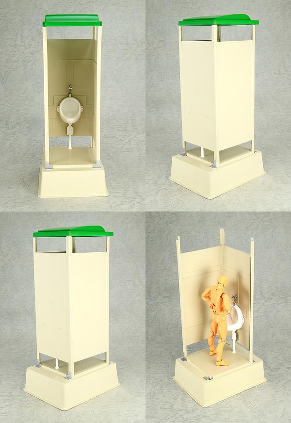 «Япония, какого чёрта?!» или миниатюры переносных туалетов. япония, туалет, фигурка, модель, длиннопост