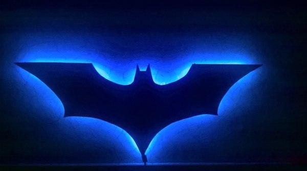 Занялся от скуки.. бэтмен, Светильник