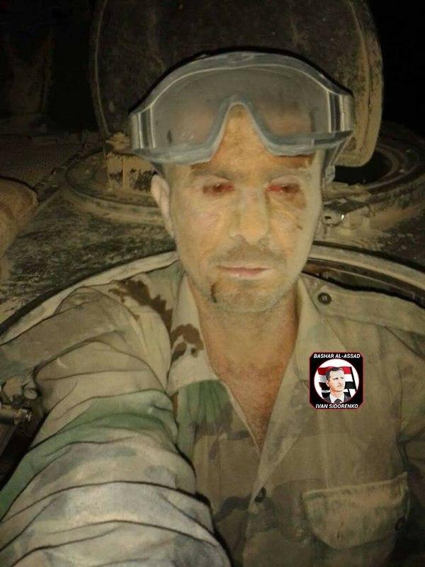Танкист сирийской армии,  3 дня воевавший против ИГИЛ без сна. Фотография, Танкист, танки, Война, Сирия, длиннопост