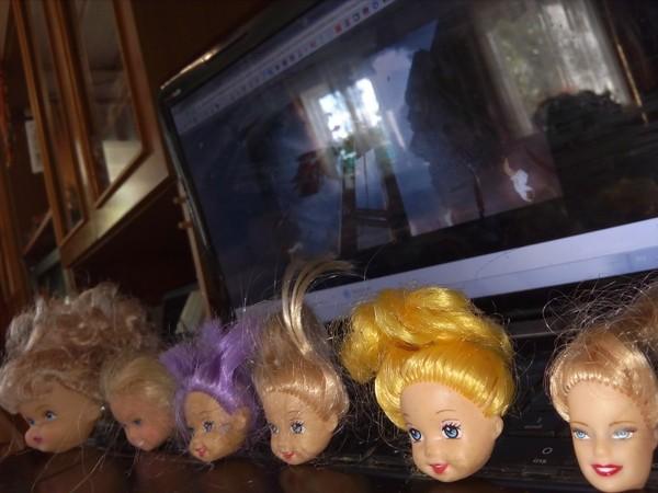 Похоже у нас растёт заведующая гильотиной куклы, Дети, гильотина, удивительное, Улыбнуло, моё, фотография