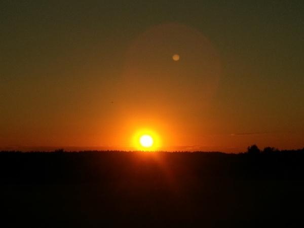 Вечер, закат, красота закат, вечер, Природа, романтика, проза