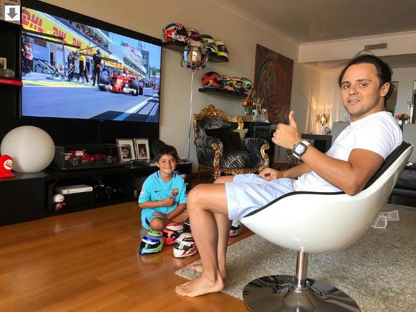 Обнадёживающие новости от пилота Формулы-1 Фелипе Массы: жив-здоров, готов вернуться. авто, спорт, автоспорт, пилот, Пресса, новость, фотография, формула 1, длиннопост