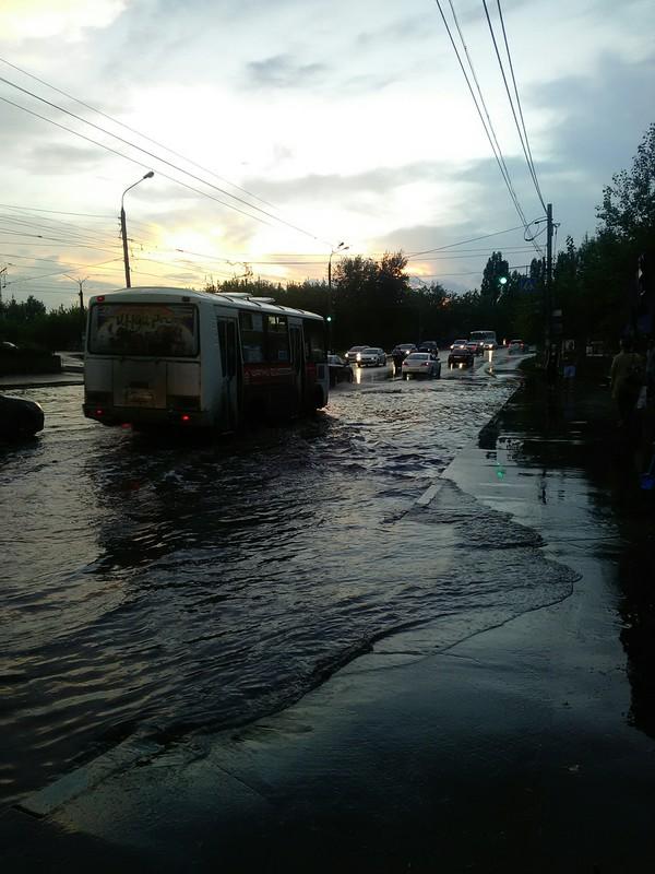 После дождя. теги явно не мое, Нижний Новгород, длиннопост