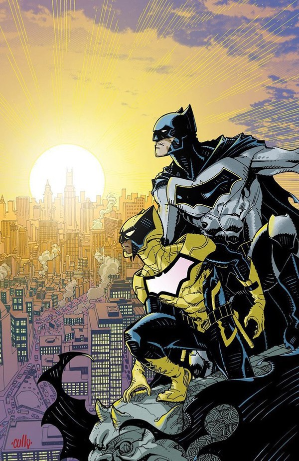 У Готэма появится новый герой. dc, комиксы, новость, готэм, бэтмен, супергерои, сигнал