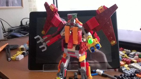 Безумные мехи Lego самоделка, Робот, длиннопост