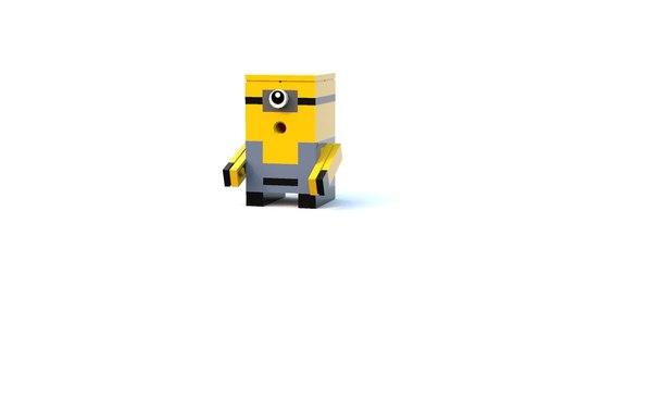 Lego миньон lego, игрушки, TOY