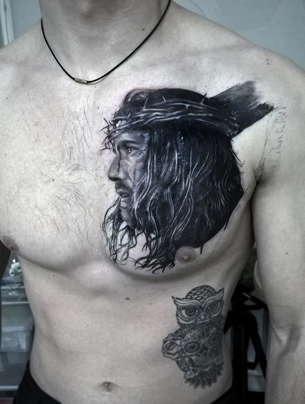 """Художественная татуировка как произведение искусства """"NKtechnology"""" tattoo, tattooink, ink, скетч, арт, nktechnology, длиннопост"""