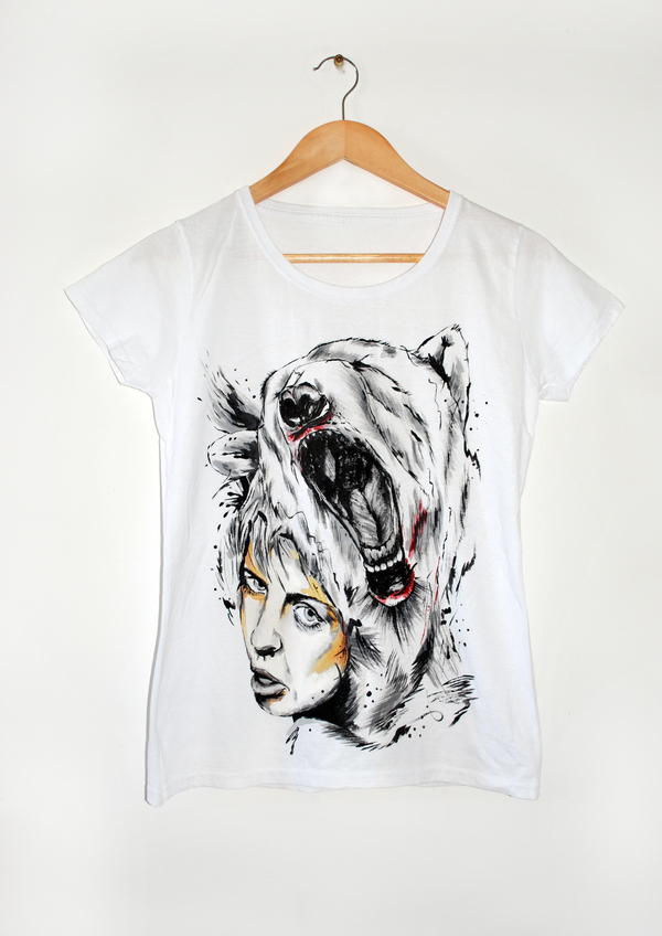 Лето вдохновило разукрасить несколько футболок футболка, роспись по ткани, футболка ручной работы, женская футболка, футболка с принтом, длиннопост