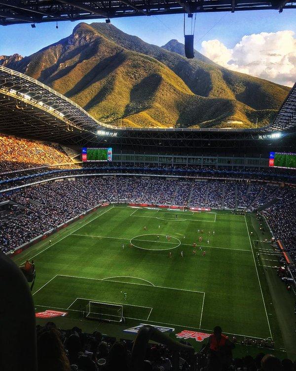 "Стадион ""Монтеррей"". Мексика."